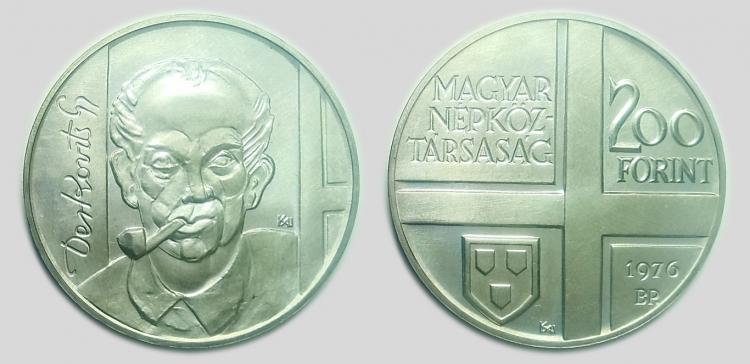 1976 Magyar Festők sor I. - Derkovits Gyula 200 forint