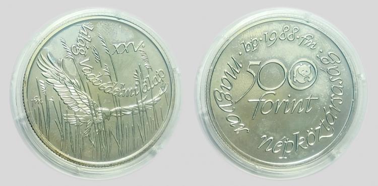 1988 Világ vadvédelmi alap 500 forint