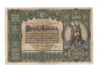 1920 500 korona