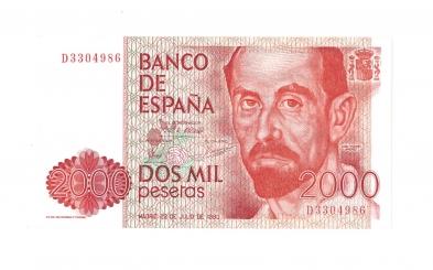 1980 2000 pesetas