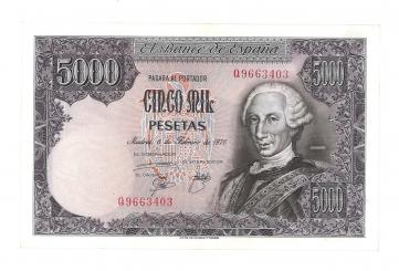 1976 5000 pesetas