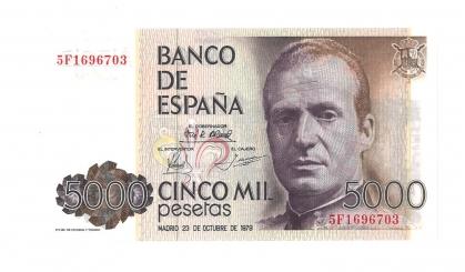 1979 5000 pesetas