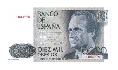 1985 10000 pesetas