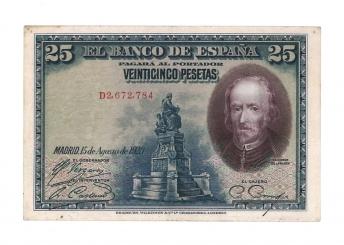 1928 25 pesetas