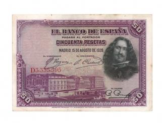 1928 50 pesetas