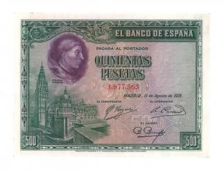 1928 500 pesetas