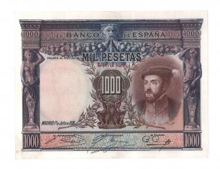 1925 1000 pesetas