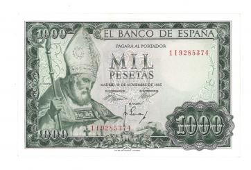 1965 1000 pesetas