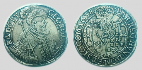 1658 II Rákóczi György tallér