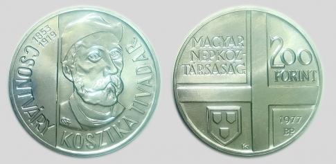 1977 Magyar Festők sor II. - Csontváry Kosztka Tivadar 200 forint
