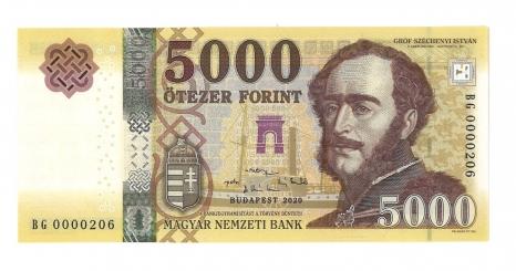 2020 5000 forint