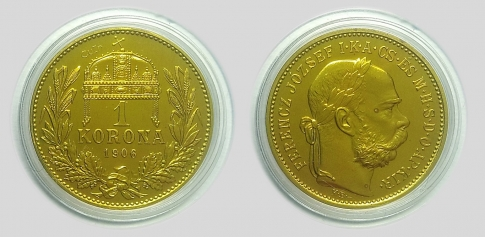 1906 Ferenc József 1 korona