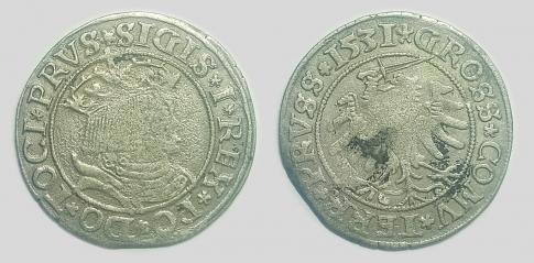 I Zsigmond lengyel garas (Zygmunt I Stary) Sigismund
