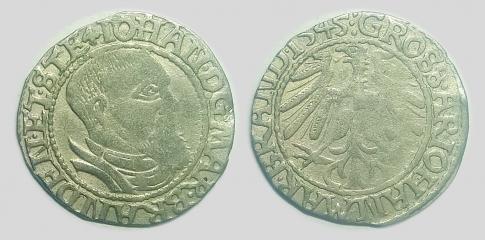 Johann von Küstrin garas groschen