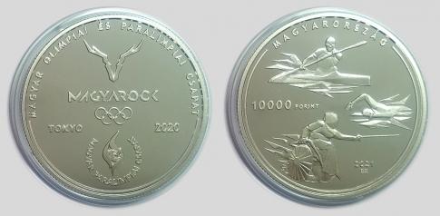 2021 Nyári Olimpia és Paralimpia - Tokió 10000 forint