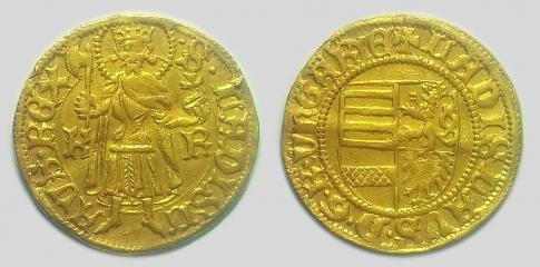 V László aranyforint