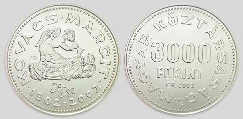 2002 Kovács Margit 3000 forint