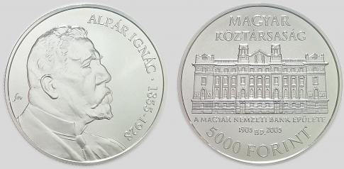 2005 Alpár Ignác 5000 forint
