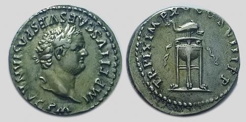 Titus denar
