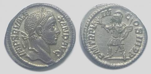 Severus Alexander ezüst denar