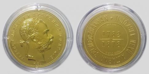 1878 Ferenc József Selmecbánya arany