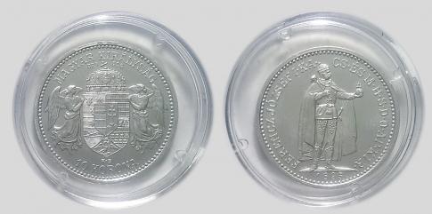 1895 Ferenc József 10 korona UV