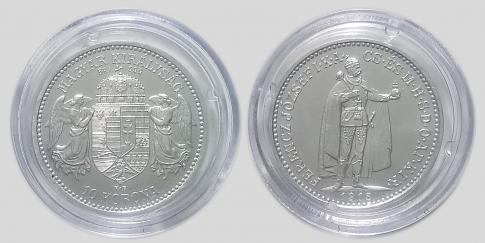 Ferenc József 10 korona UV