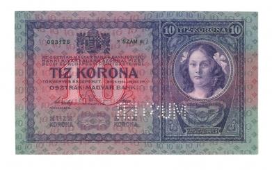 1904 10 korona
