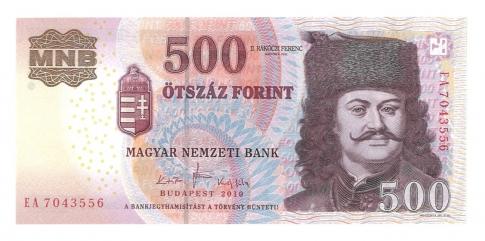 2010 500 forint