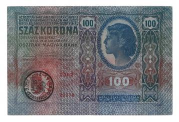 1912 100 korona