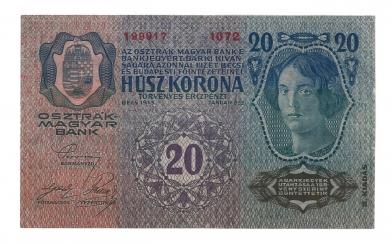 1913 20 korona