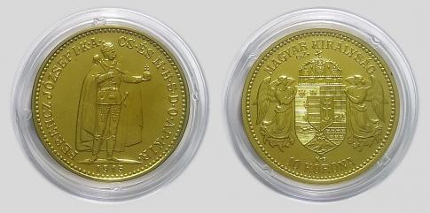 1915 Ferenc József 10 korona UV