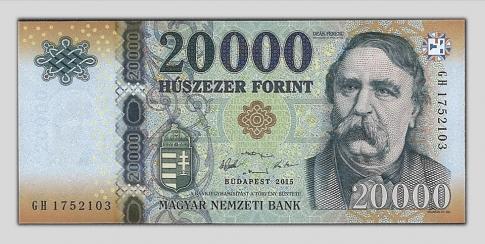 2015 20000 forint